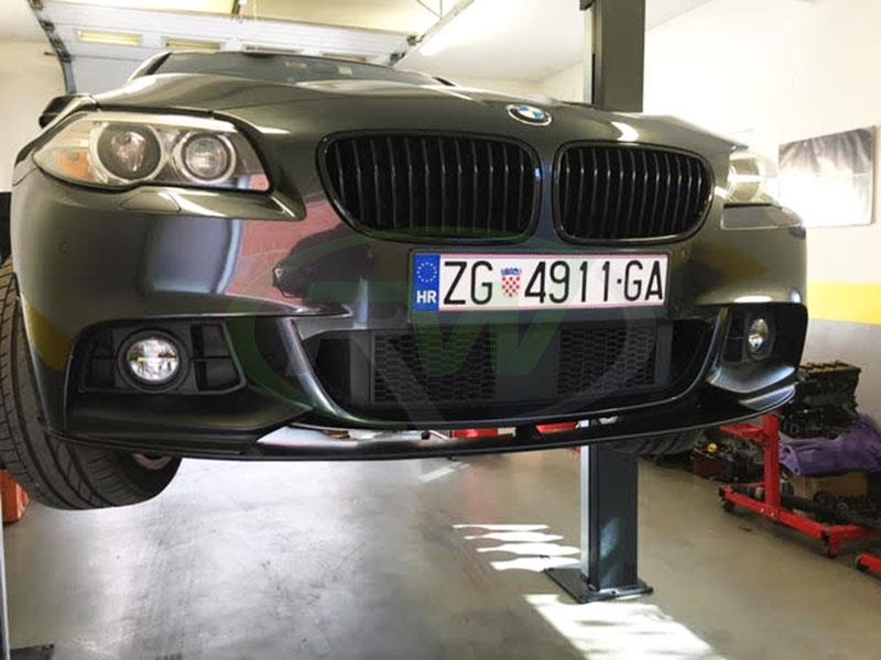BMW F10 535i with an RW Performance Style Front Lip Spoiler