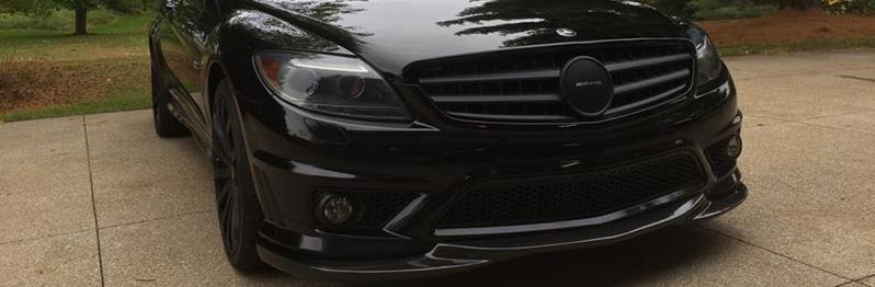 Carbon Fiber Parts for 2006-2013 Mercedes W216 CL550, CL63 and CL65