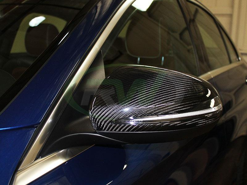 Complete solution carbon fiber mirrors for your 2014+ W205 from RW carbon