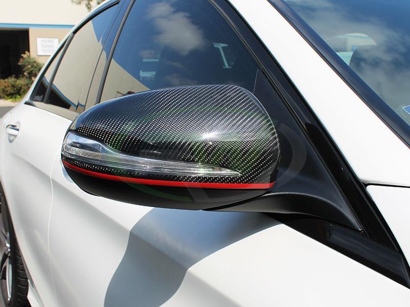 Mercedes Carbon Fiber Replacement Mirrors W205 W213