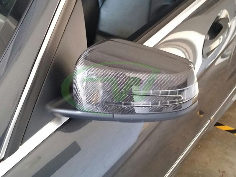 Mercedes Carbon Fiber Replacement Mirror Covers