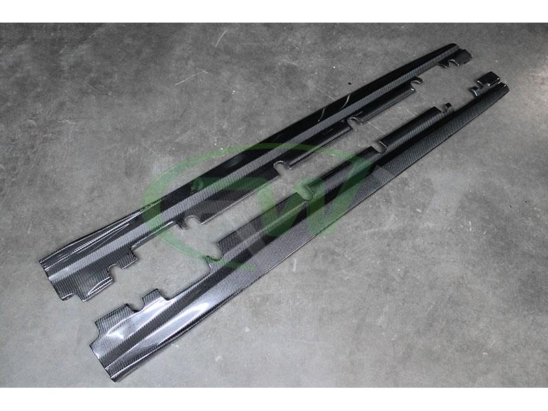 Mercedes CLA250 CLA45 Carbon Fiber Side Skirt Extensions