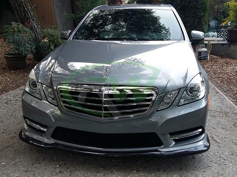 Mercedes w212 e350 e550 carlsson style carbon fiber front for Mercedes benz e350 accessories