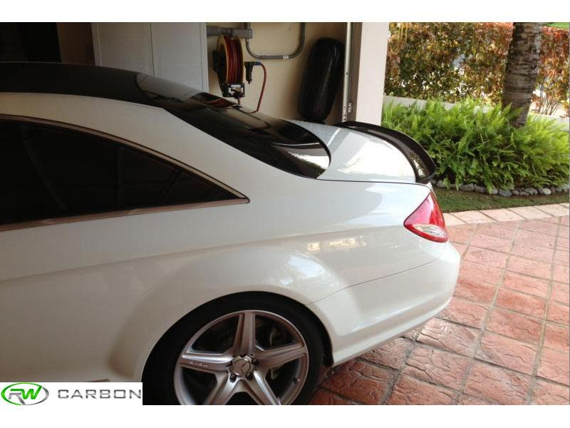 Carbon Fiber Vath style trunk spoiler for 2006-2013 CL550, Cl63 and CL65