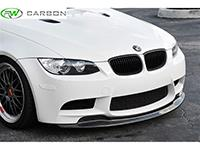 The RW Carbon BMW E9X M3 GTS Style CF Front Lip on E92 M3.