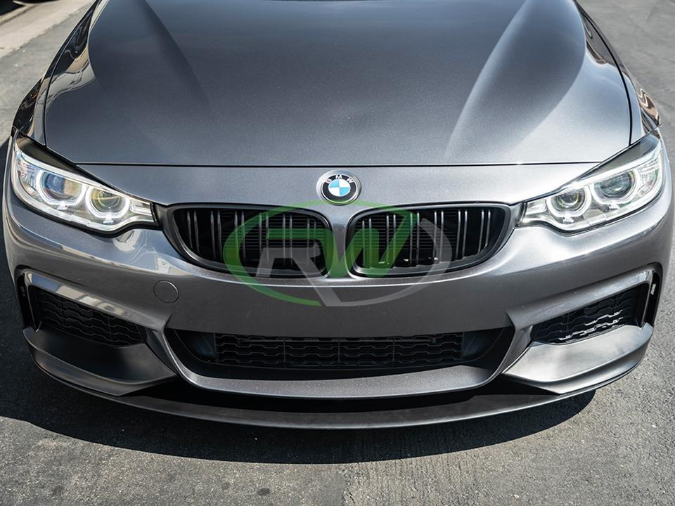 RW Carbon BMW F32 Performance Style Front Lip