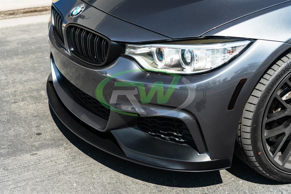 RW carbon f32 f33 f36 performance style front lip