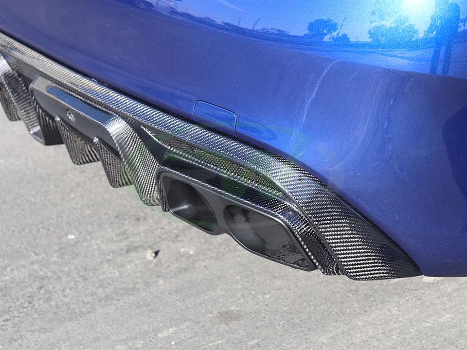 Mercedes C63S W205 gets a set of RW Aluminum Exhaust Tips