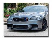 BMW F10 M5 3D Style Carbon Fiber Front Lip Spoiler