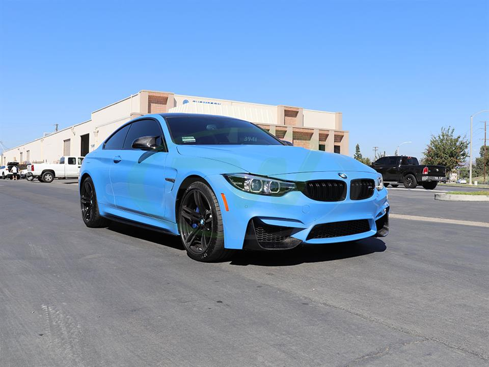 BMW F82 M4 gets a set of RW Carbon Fiber Perf Style Splitters