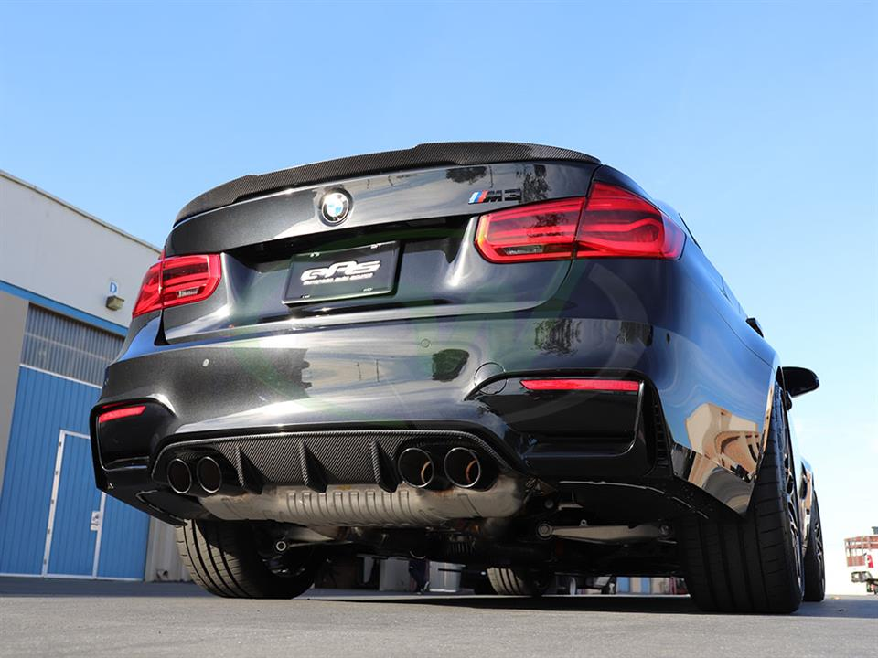 BMW F80 M3 CF Performance Style Diffuser from RW Carbon