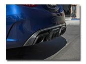 Mercedes W205 C63 AMG Brabus Style Rear Diffuser
