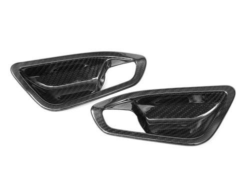 BMW F20 F22 F87 Carbon Fiber Door Handle Trims