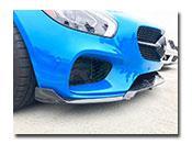 Mercedes C190 GT GTS Carbon Fiber Front Lip