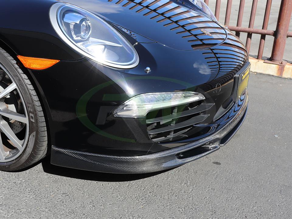 Porsche 991 Carrera S gets an RW DTM Carbon Fiber Front Lip