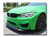 BMW F80 F82 F83 M3 M4 GTS Style Carbon Fiber Front Lip
