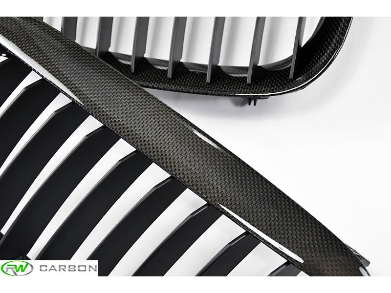 The exterior of your 645ci 650i or m6 needs these BMW E63 E64 Carbon Fiber grilles from rwcarbon.com