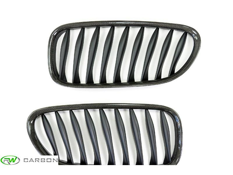 Get the best price for your E85 E86 Z4 carbon fiber grilles from RW Carbon