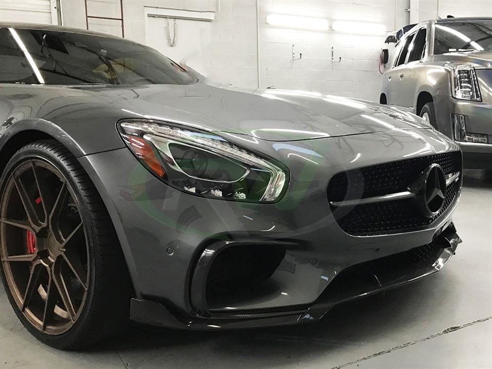 Mercedes C190 GTS with an RW Carbon Fiber Front Lip