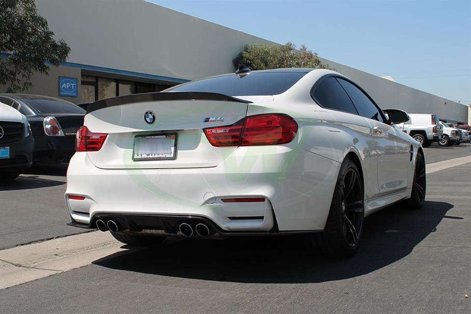 BMW F82 M4 3D Style Carbon Fiber Diffuser from RW Carbon