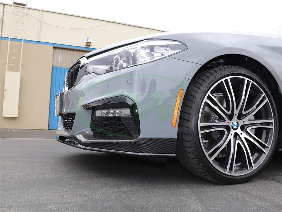 BMW G30 540i gets a new RW Performance Style CF Front Lip Spoiler