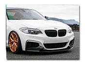 BMW F22 F23 Performance Style Front Lip Spoiler