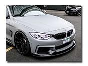 BMW F32 F33 F36 Performance Style CF Front Lip Spoiler