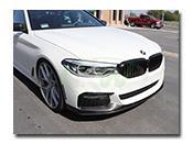 BMW G30 M Sport Performance Style Carbon Fiber Front Lip Spoiler