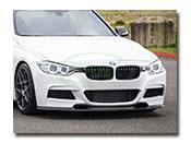 BMW F30 Varis Style Carbon Fiber Front Lip Spoiler