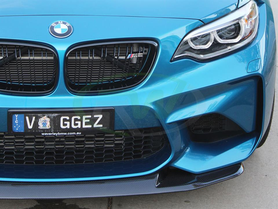 Long Beach Blue BMW F87 M2 with a new GTS Style Front Lip