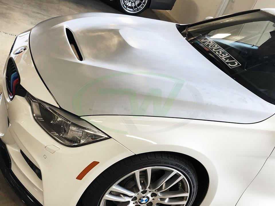 BMW F30 F32 GTS Style Carbon Fiber or FRP Hood