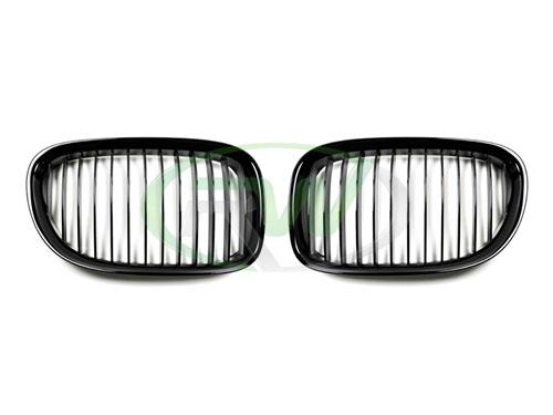 RW Carbon's gloss black grilles for the 2009+ BMW F01 and F02 7 Series