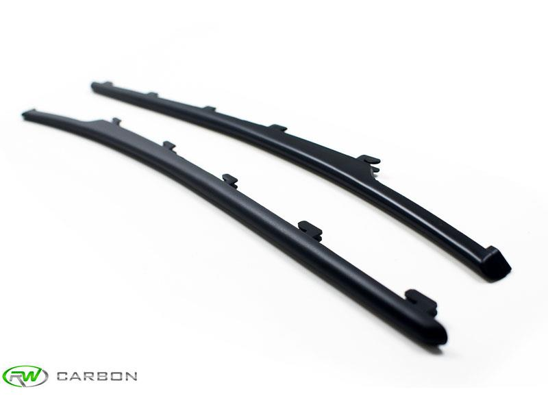 Compliment other matte black accessories on your BMW E63 or E64 645Ci or 650i with these RW Carbon Matte Black Fender Slats