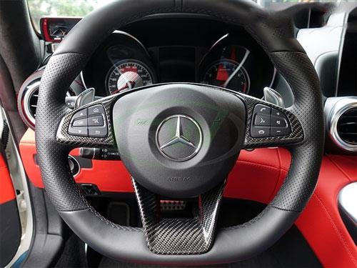 Mercedes AMG with Carbon Fiber Paddle Shifters