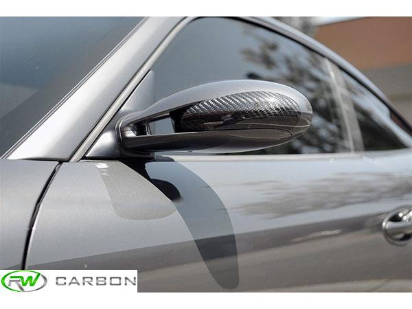 Get great exterior quality and price for the Porsche Carbon Fiber Carrera 997 mirror covers from RW Carbon