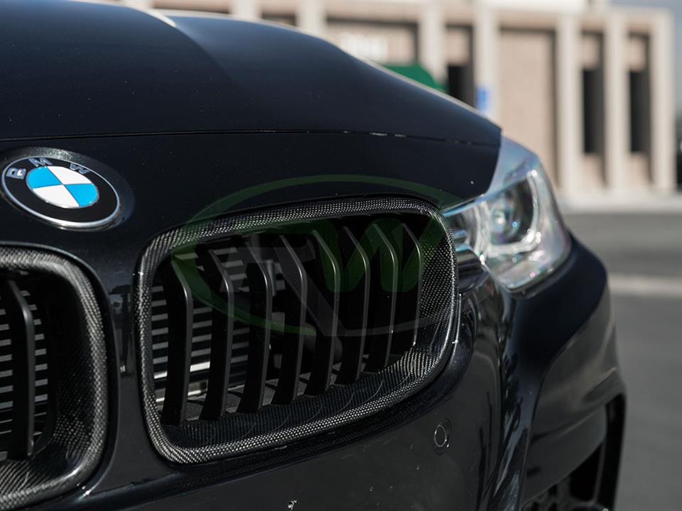 Rw Carbon bmw f30 335i carbon fiber grill replacement