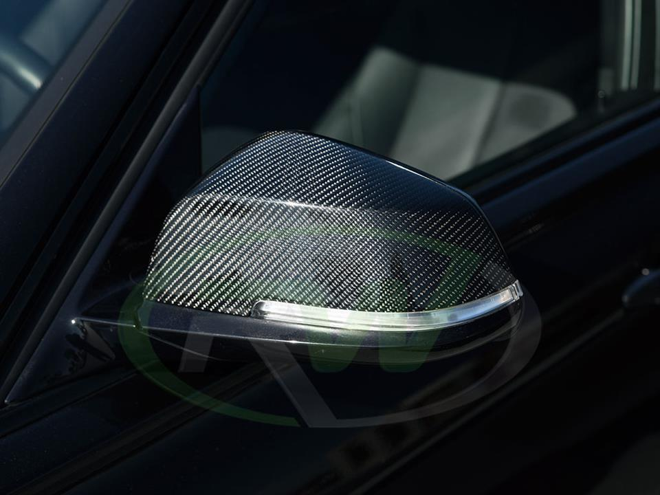 Rw Carbon Bmw F30 335i Carbon Fiber Mirror Replacement