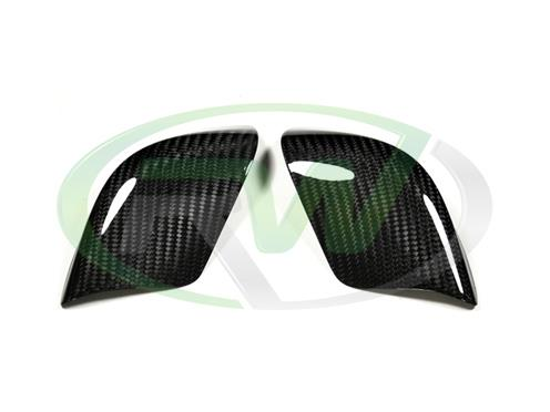 Carbon Fiber Mirror Covers for your 2009-2014 Nissan GTR from RW Carbon
