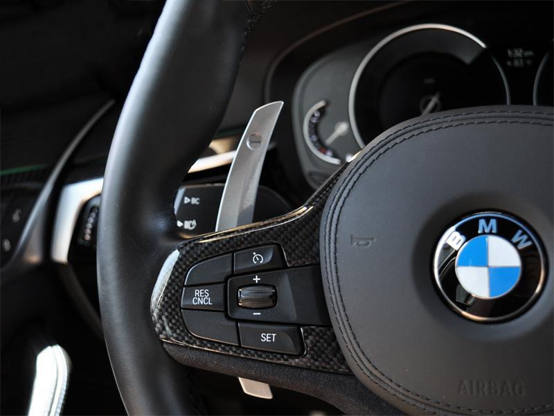 rw carbon bmw g30 paddle shifter extensions