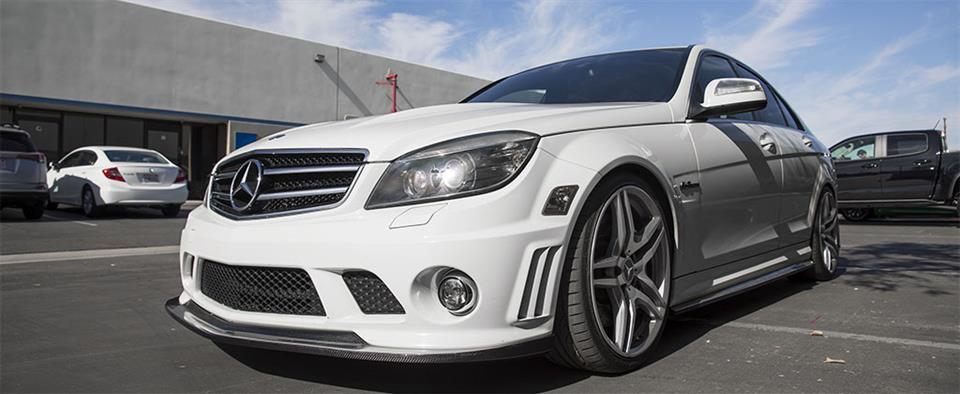 Mercedes W204 C63 AMG Carbon Fiber Parts