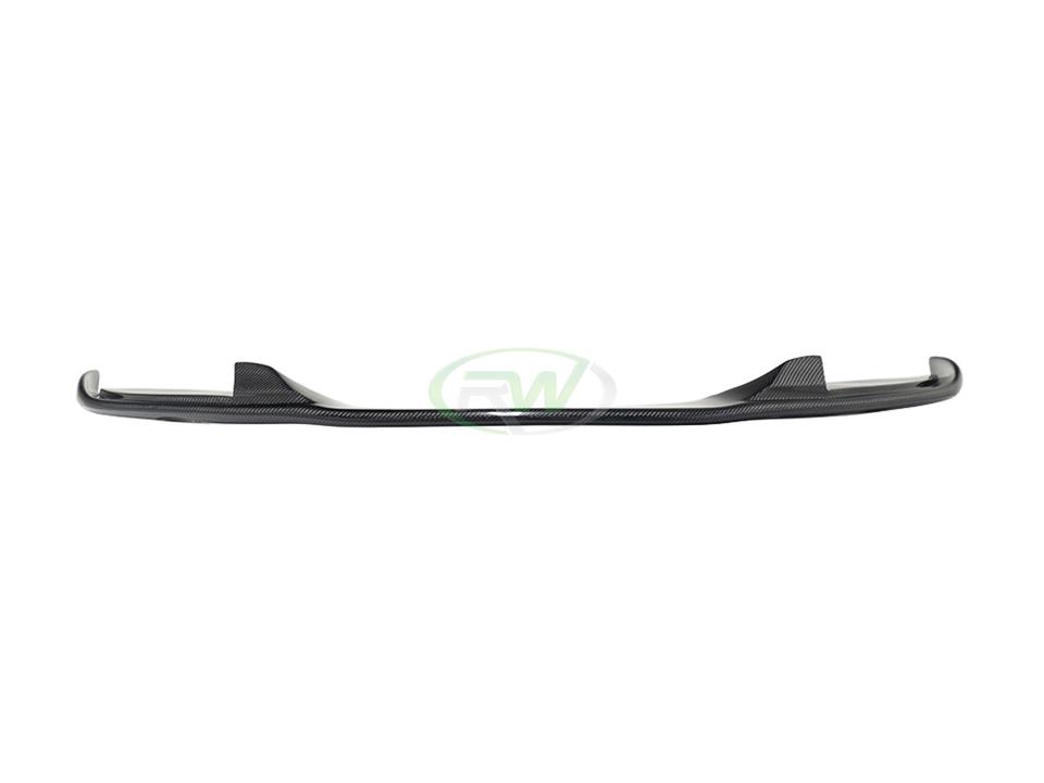 rw carbo fiber bmw e60 m tech hamann style cf front lip