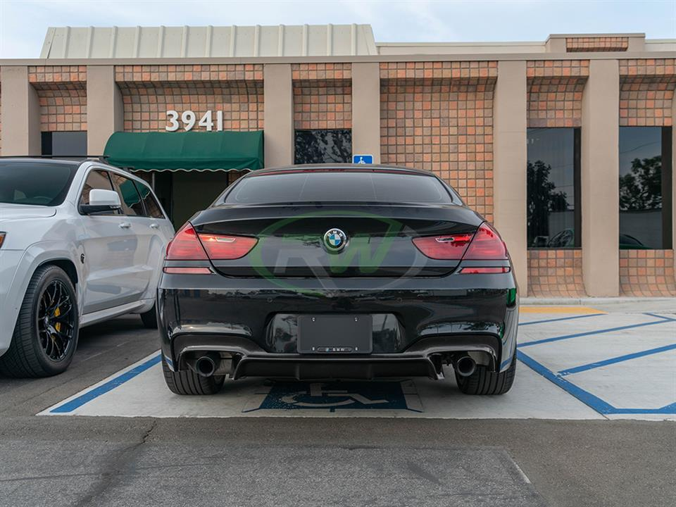 BMW F06 640i with 3D Style Carbon Fiber Diffuser