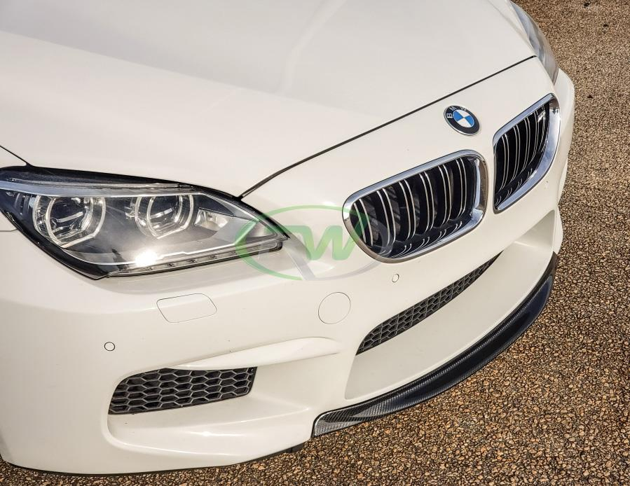 rw carbon fiber bmw f06 m6 cf center lip