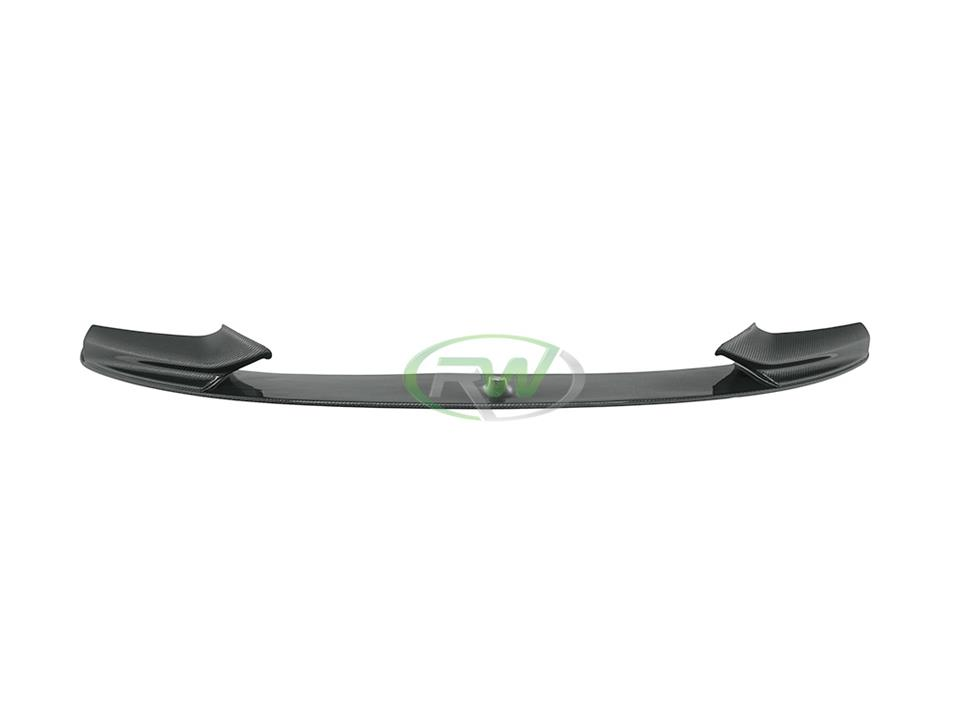 rw carbon bmw f10 5 series performance front lip