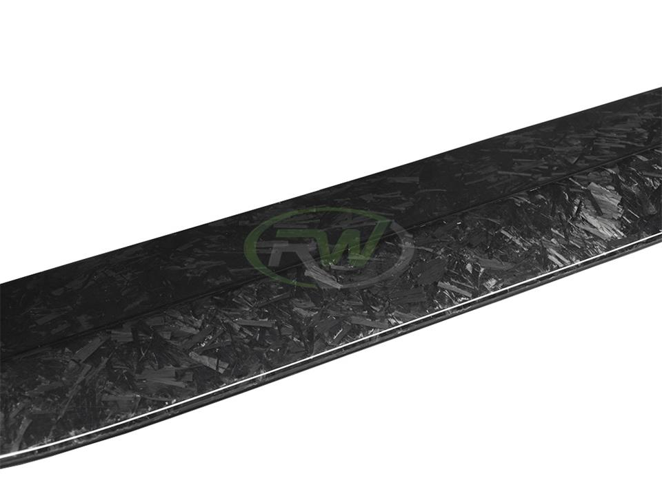 rw carbon fiber bmw f80 forged carbon gtx side skirts