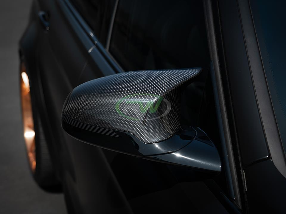 BMW F80 F82 F83 M3 M4 Carbon Fiber Mirror Replacements
