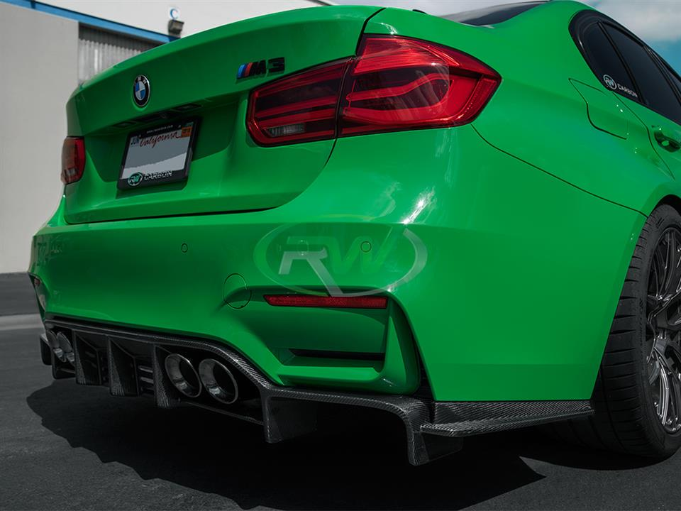 BMW F80 M3/ F82 / F83 M4 Exotics Style V2 Carbon Fiber ...