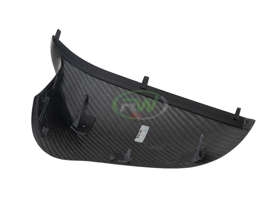 rw carbon fiber bmw f80 cf mirror cap replacements