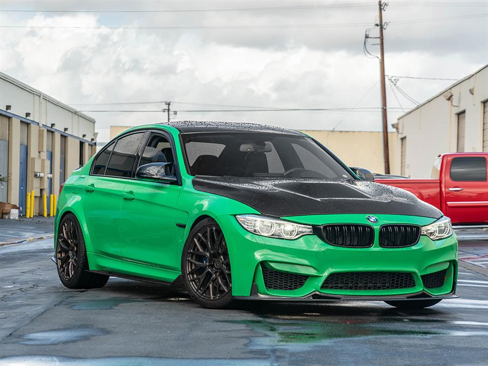 rw signatures type II carbon fiber side skirt extensions for F80 M3