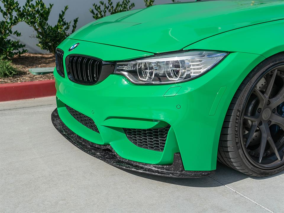 forged carbon rw signatures lip for bmw f80 m3